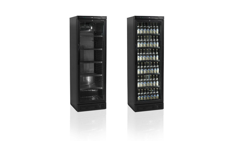 New Elegant Black Display Cooler