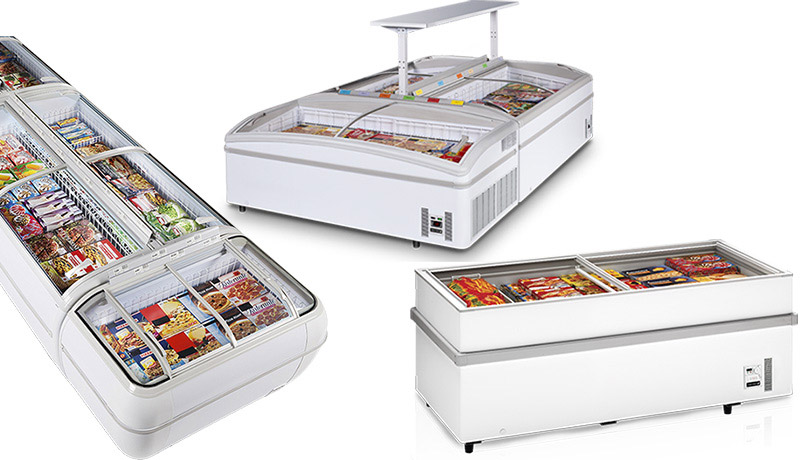 New supermarket freezers / coolers